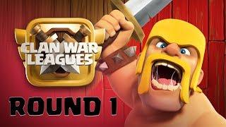 Clash of Clans Live | Clankriegs Liga Runde 1 | Rathaus 12 Aktion | Clash of Clans deutsch / german