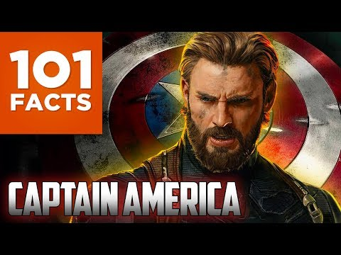 101 Facts About Captain America