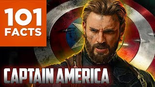 Repeat youtube video 101 Facts About Captain America