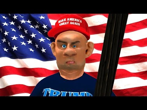 Trump Supporter in Second Life