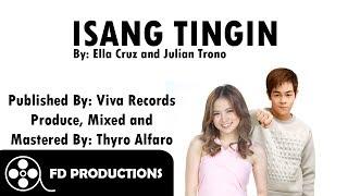 lyrics ella cruz and julian trono isang tingin