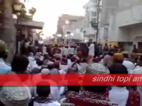 MQM  Sindhi Topi And Ajrak Liaquatabad Sector