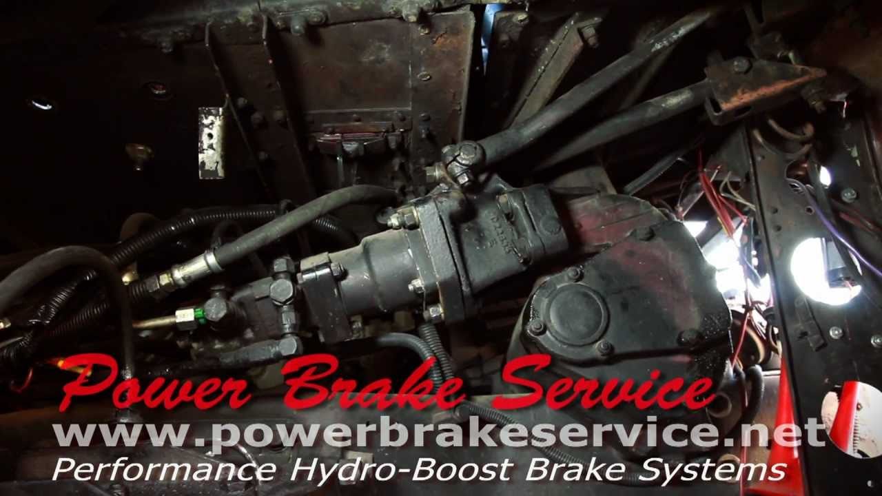 Brakes And Rotors >> London Double Decker Bus Lockheed Brake to Air/hydraulic Brake Booster Conversion - YouTube
