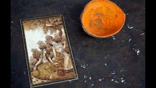 Rajasthani miniature painting, Udaipur, by Shantilal Sharma