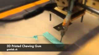 3d Printed Chewing Gum