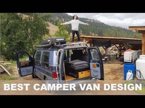 My Student Has The Sickest Custom Camper Van I Have Ever Seen! | Coachmen Econoline 150 Custom Build