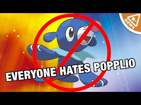 Why Everyone Hates Popplio from Pokemon Sun and Moon (Nerdist News w/ Dan Casey and Kyle Hill)