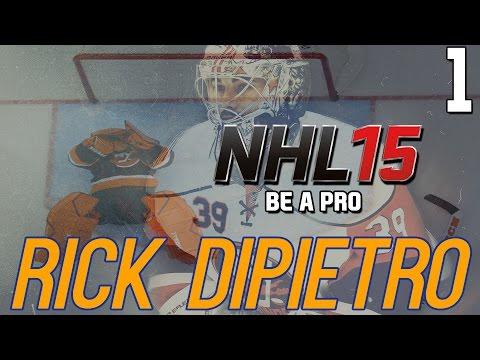 NHL 15 - Be A Pro: Rick DiPietro Ep. 1 -