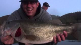 Hookedup Bass Fishing - Santa Margarita Lake - 09.22.2013