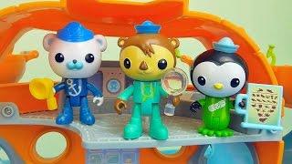 Октонавты игрушки - Собираем каюты Пейзо и Шеллингтона. Octonauts Peso and Shellington for children(Октонавты Octonauts очень интересные мультфильмы, ведь в них есть такие замечательные герои, как например медве..., 2016-01-27T06:00:00.000Z)