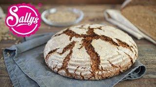 Brot backen / Roggenbrot / 100% Roggenmehl