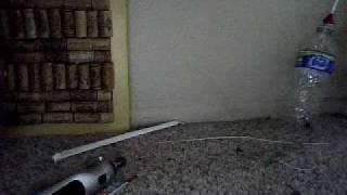 how to make a water bottle bb dart gun