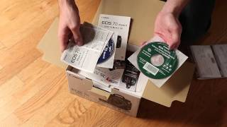 Canon 7D Mark II Unboxing (7D2 body only) - AKPHOTO.COM