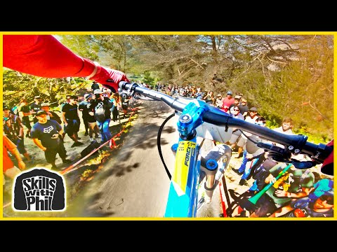My Downhill Race Run from The 2019 Sea Otter Classic | Skills with Phil