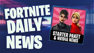 Fortnite Daily News *NEUES* STARTER PACK, NVIDIA NEWS & LEAKED SKINS (12 März 2019)