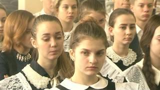 Школьники встретились с героем Чеченской войны