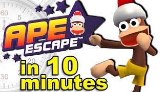 The Complete History of Ape Escape (feat. Chase Face Show) - A Brief History