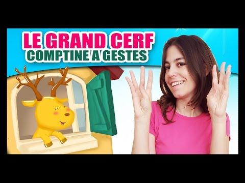 Le grand cerf - Comptines à gestes pour bébés - Cerf, cerf, ouvre moi! Titounis