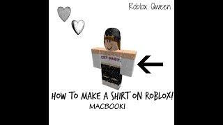 How to make a shirt on Roblox! ( MacBook) + Beginner Tutorial! //Roblox Qween//