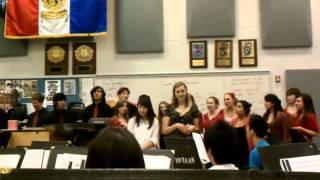 Girls Singing Valentine