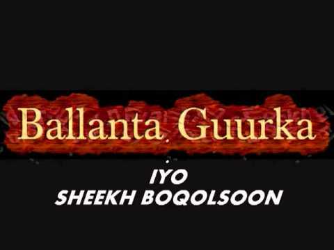 Muxaadaro Ballanta Guurka, Sheekh Boqolsoon