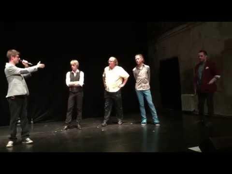 Skety, Vojta Dyk, Erik Bosio, and Bill Hare - Prague, Czech Republic, May 31, 2015