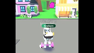 Monster High Abbey Bominable stuck in a weird world with hoverboard in Adopt me I Roblox
