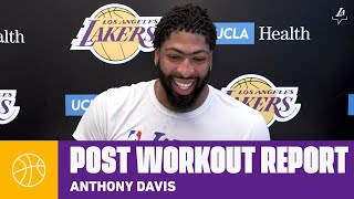 "AD says he's ""100% healthy"" after the hiatus and ready to return to competition 