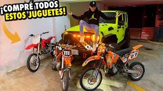 COMPRÉ TODO ESTO PARA LAS RUTAS.. *Más motocross* | ManuelRivera11