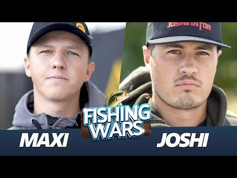 Es kann nur EINEN geben (die Zerstörung) Maxi vs Joshi - Krieg am Wasser   Fishing Wars
