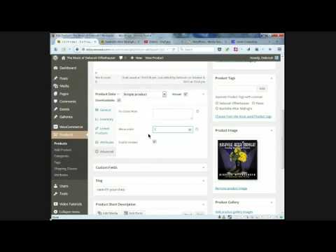Adding Your Music CD and Tracks to WooCommerce Grouped Products