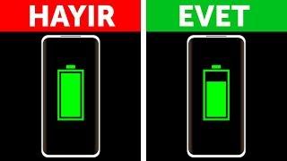 Telefonunuzu Neden Şarjı %100 Olana Kadar Şarj Etmemelisiniz?
