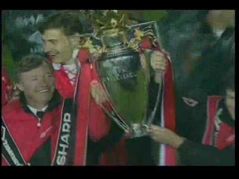 Song for the champions Manchester United.