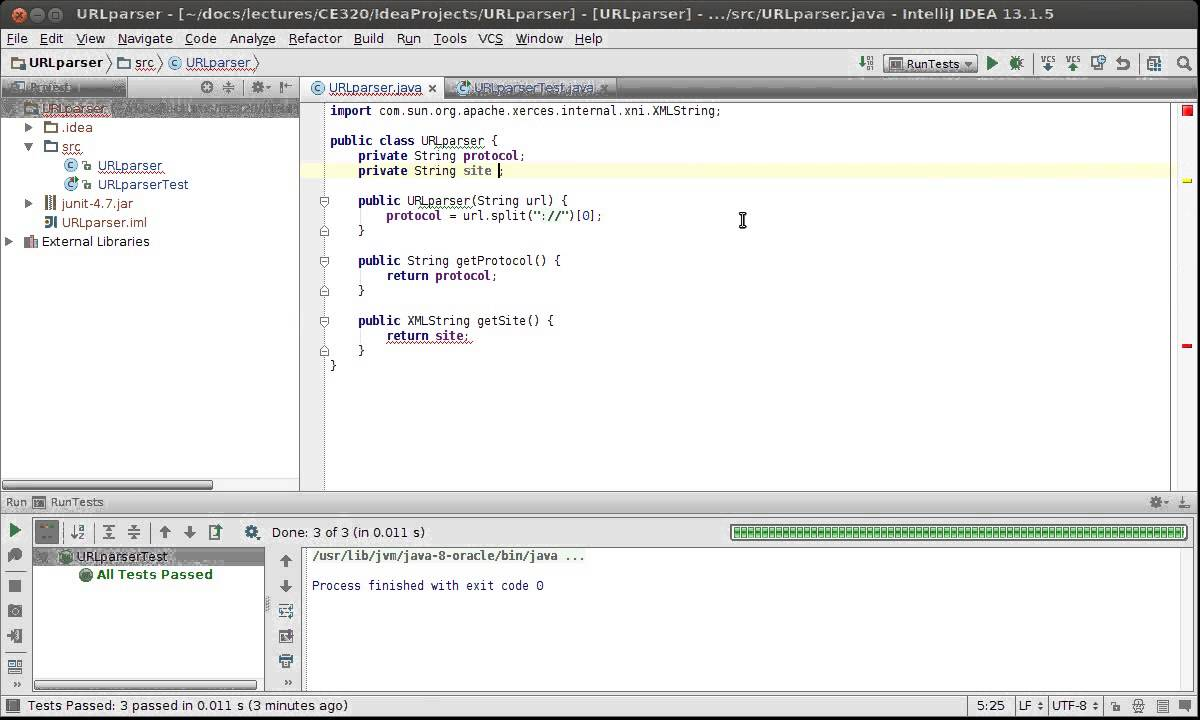 Test driven development java tutorial gallery any tutorial examples test driven development tdd in java using intellij and junit test driven development tdd in java baditri Gallery