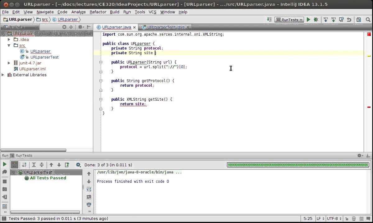 Test-driven development (TDD) in Java using IntelliJ and JUnit