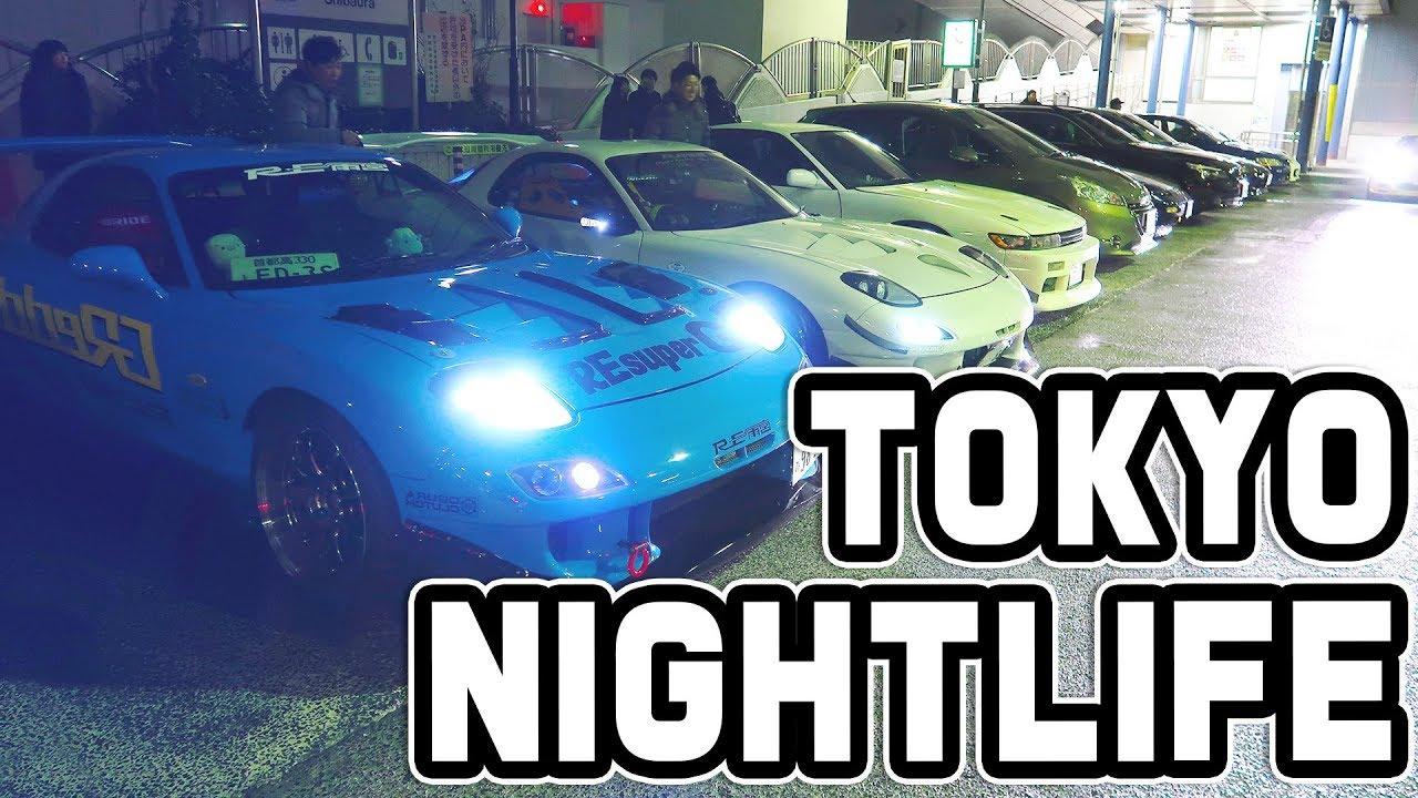 TOKYO NIGHTLIFE - Car meets of Tokyo!