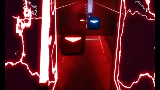 Beat Saber - Every Level Hard - Not Perfect - Stood on Oculus Headset Wire..