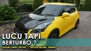 Bajak Mobil Temen #6 Suzuki Swift Sport ASLI Video