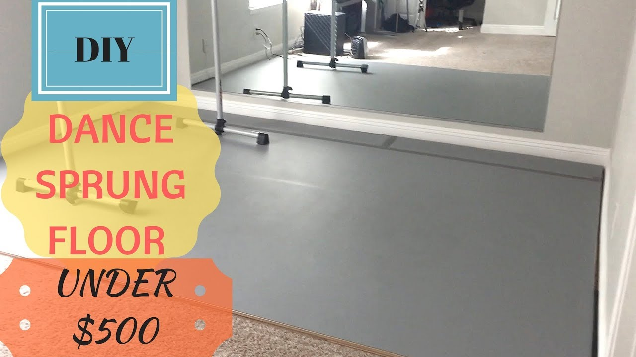 Diy Dance Sprung Floor Over Carpet Use It For Ballet Yoga Gym Weights
