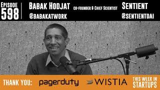 Babak Hodjat, Fühlenden Co-Gründer& Erfinder hinter der Siri-Technologie), schafft A. I., die lernt/passt