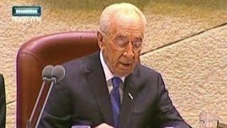 تعرف على شمعون بيريز أحد الكبار المؤسسين لإسرائيل