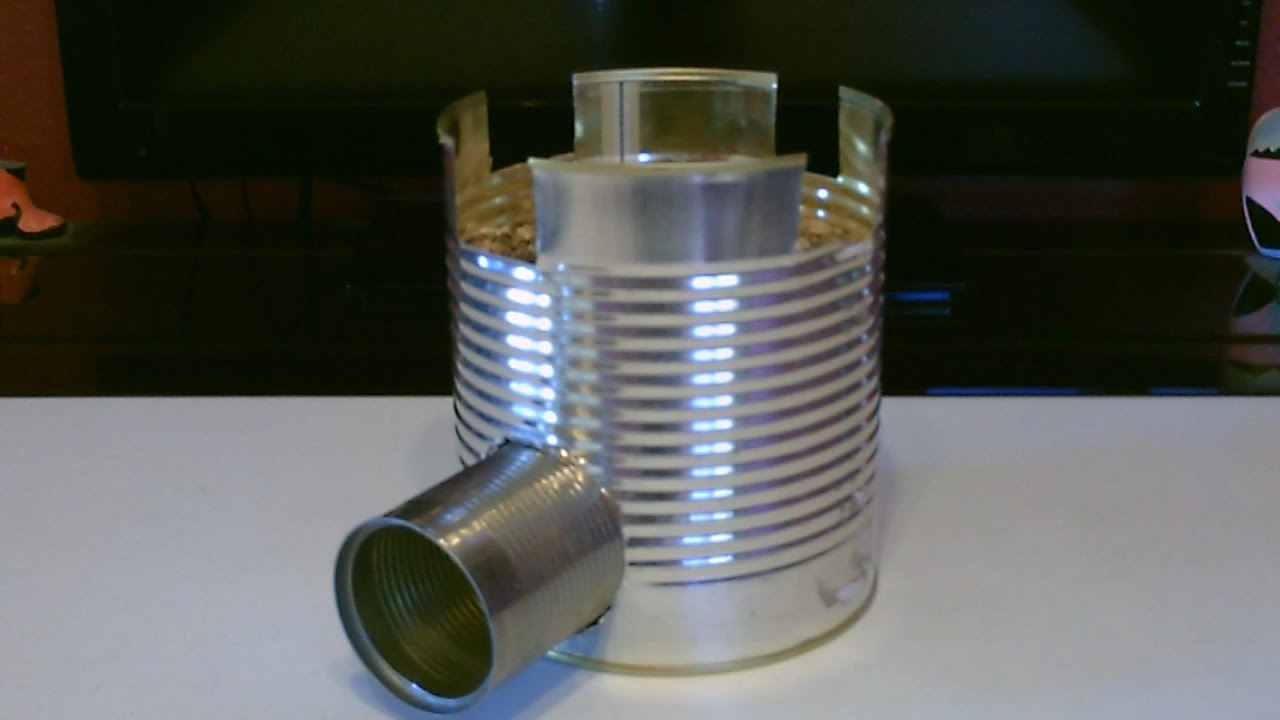Homemade Steel Can Rocket Stove The Quot Big Can Quot Rocket