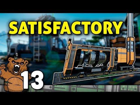 Eu não me canso, só construindo é que me SATISFAÇO | Satisfactory | 07 from YouTube · Duration:  1 hour 4 minutes 55 seconds