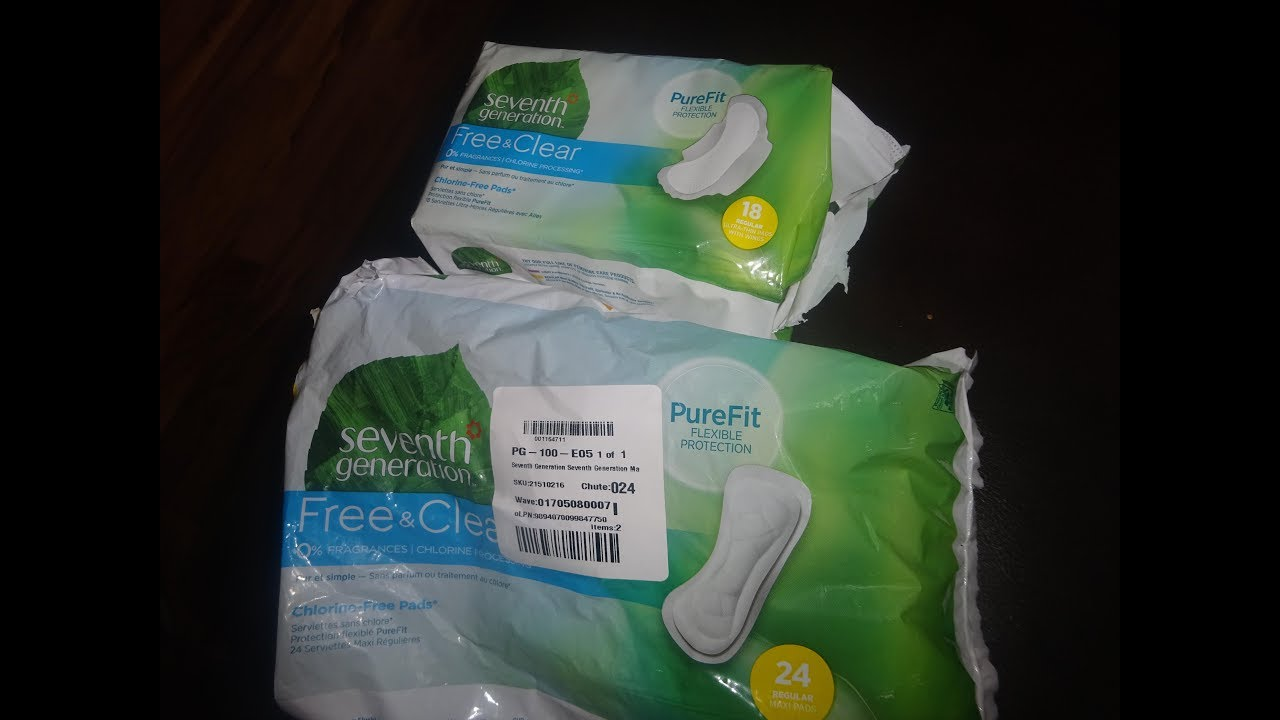 Seventh Generation Pads Non Toxic