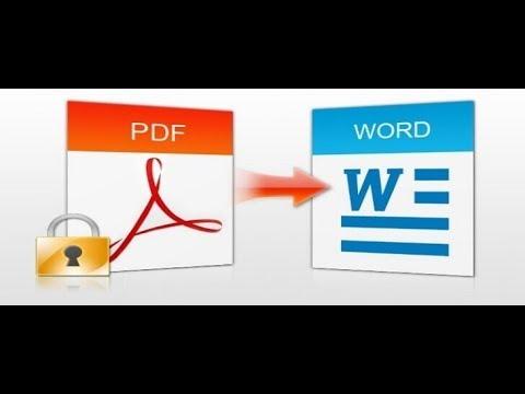 Как преобразовать PDF файл в документ Word
