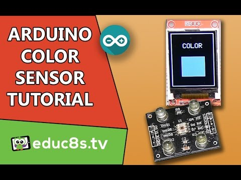 Arduino Color Sensor Tutorial  (TCS230) With Arduino Uno And ST7735 Color TFT Display.