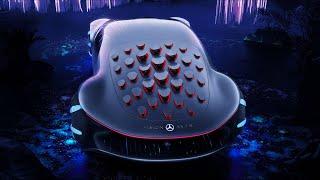 Обзор самого безумного Mercedes - VISION AVTR - фантастика, AVATAR возвращается!