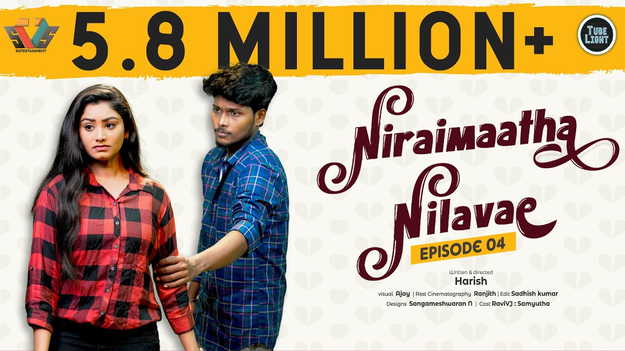 Niraimaatha Nilavae Episode 04 | Tube Light Attagasangal | Pregnancy Sothanaigal | Caring Husband