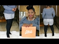 Public Desire Thigh High Boots Try On
