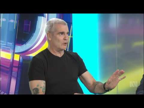 """Henry Rollins - """"A Lot of Americans are Mad"""" ABC Australian Tv Interview September 1 2016"""